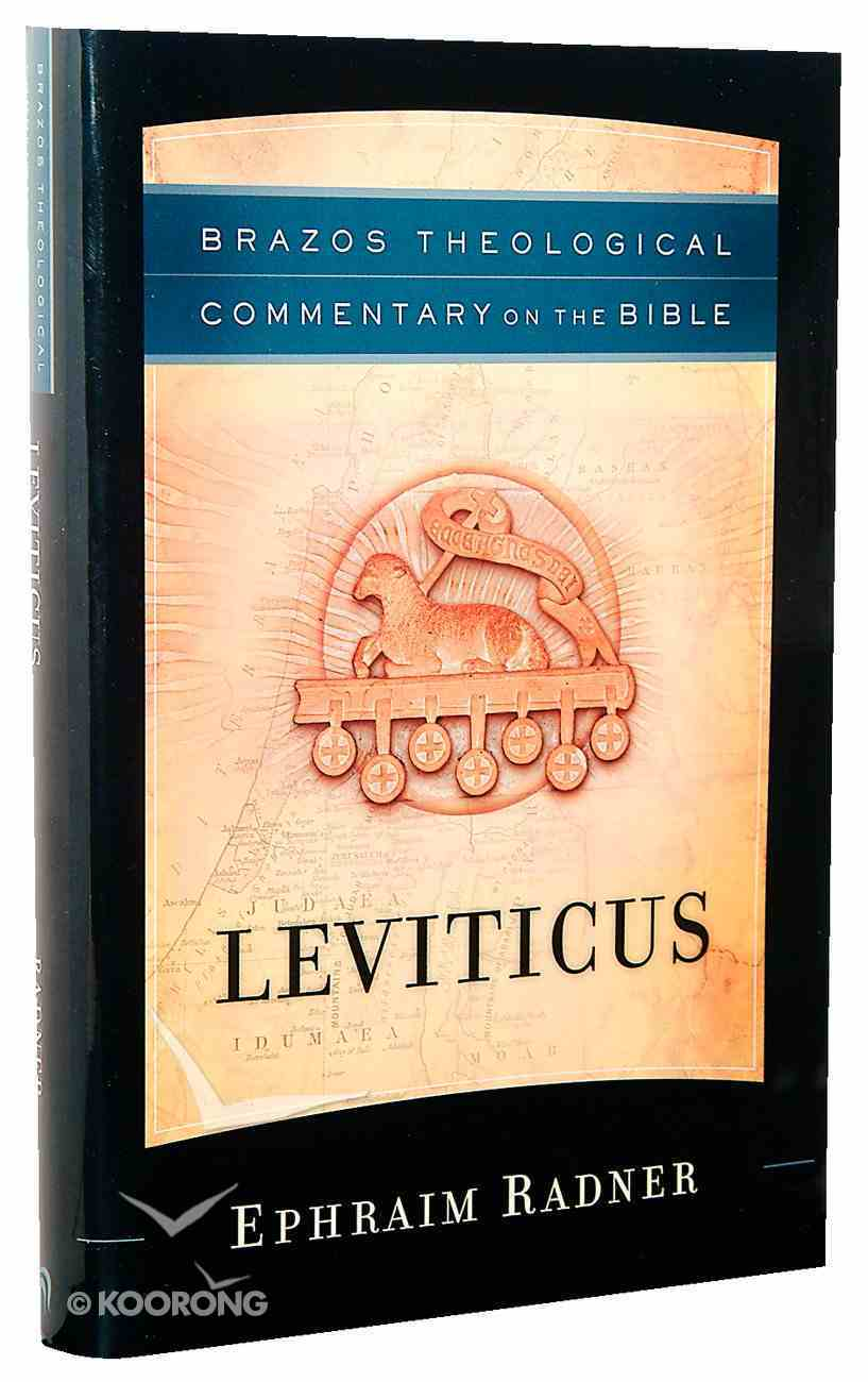 Leviticus (Brazos Theological Commentary On The Bible Series) Hardback