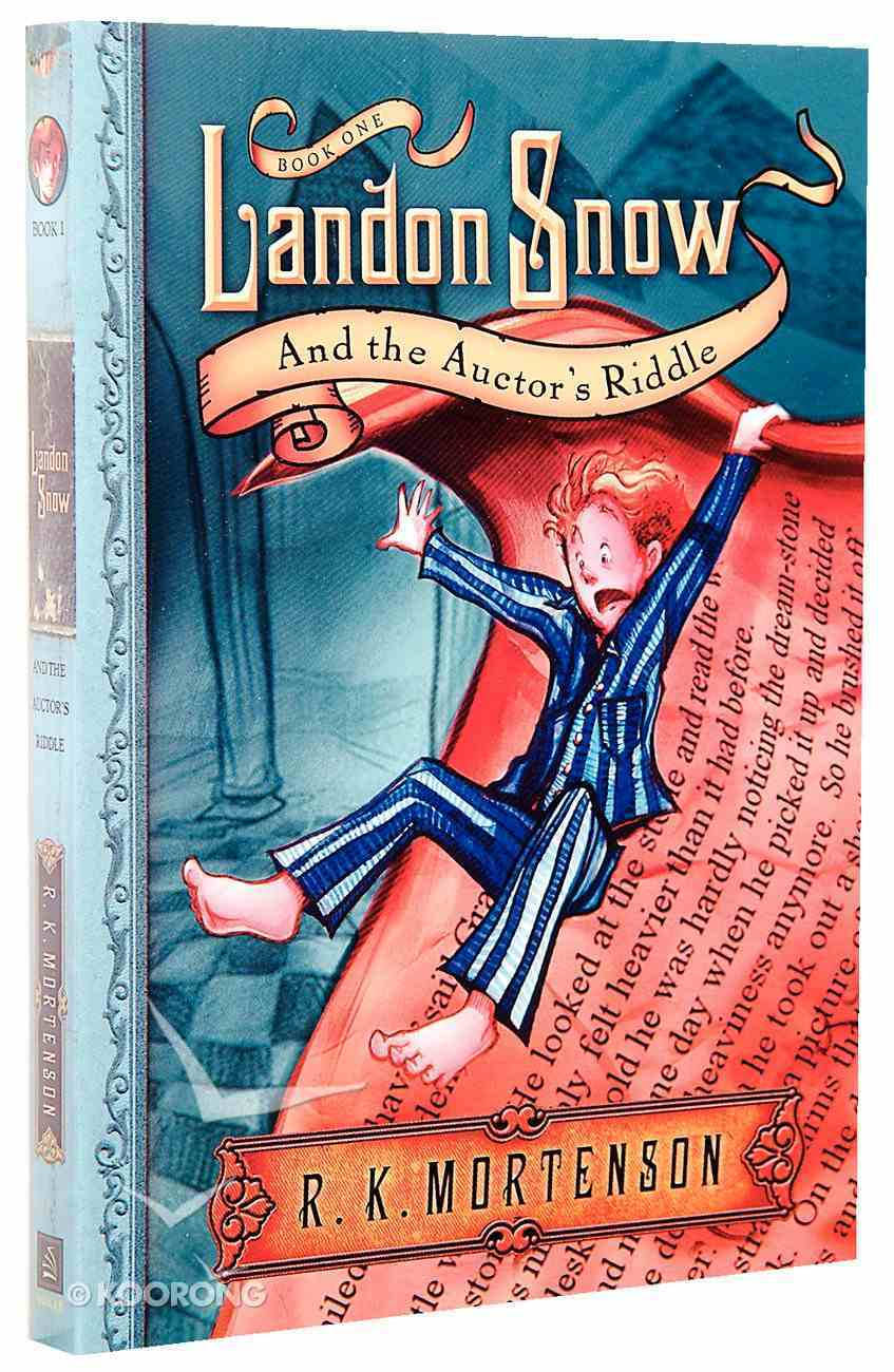 Landon Snow and the Auctor's Riddle (#01 in Landon Snow Series) Paperback