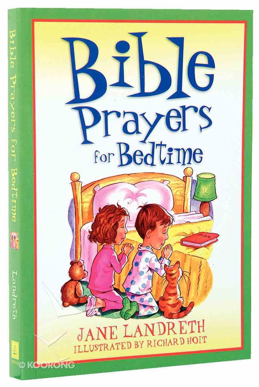 Bible Prayers For Bedtime Paperback