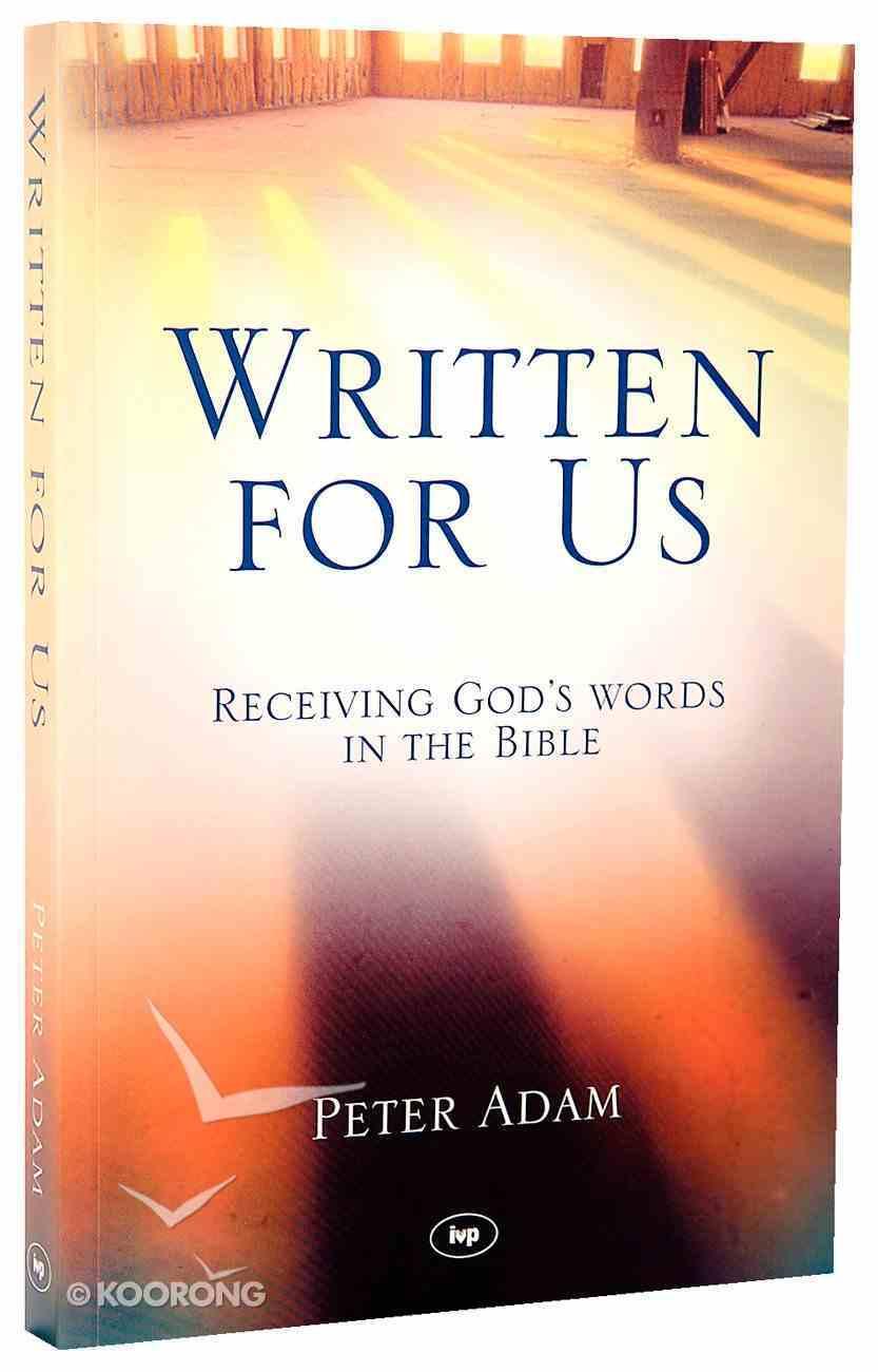 Written For Us Paperback