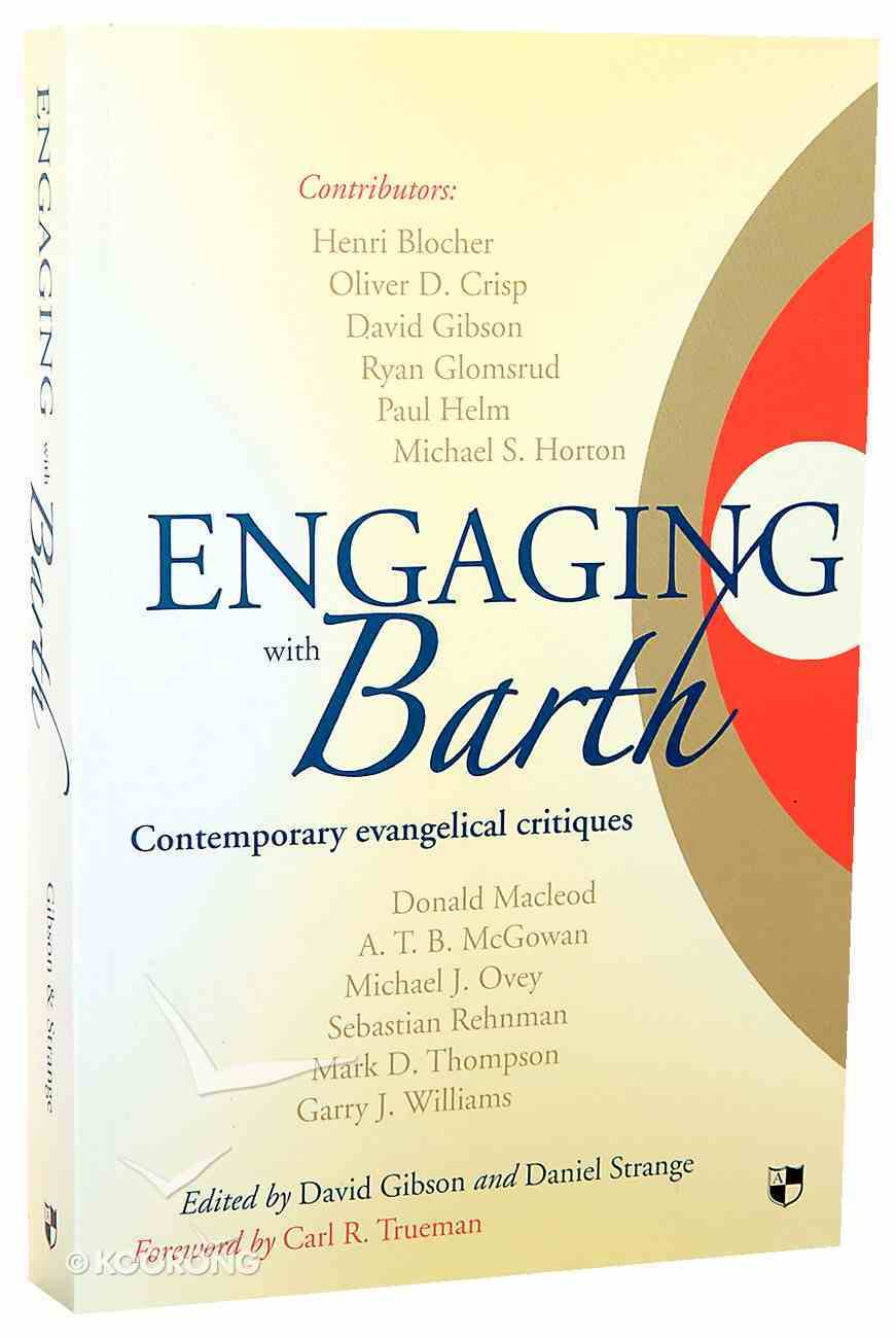 Engaging With Barth Paperback
