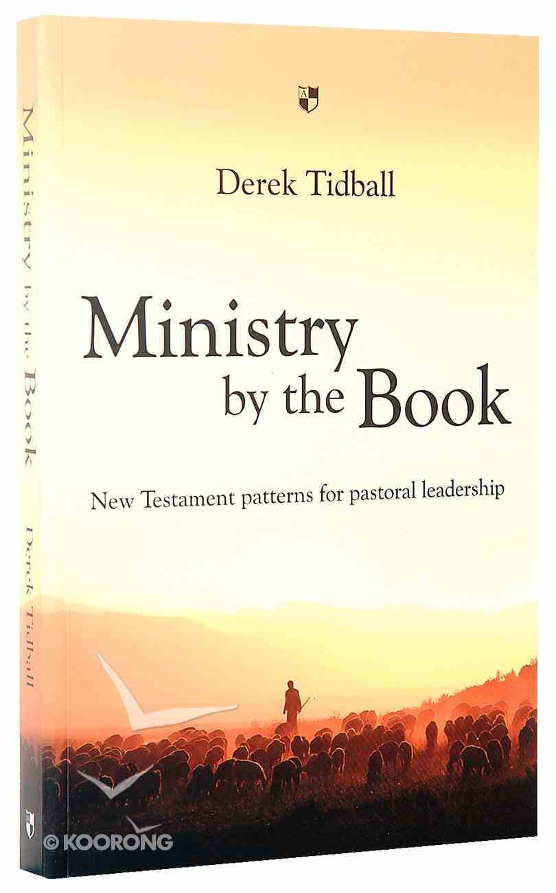Ministry By the Book Paperback