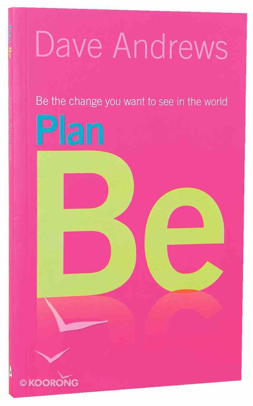 Plan Be Paperback