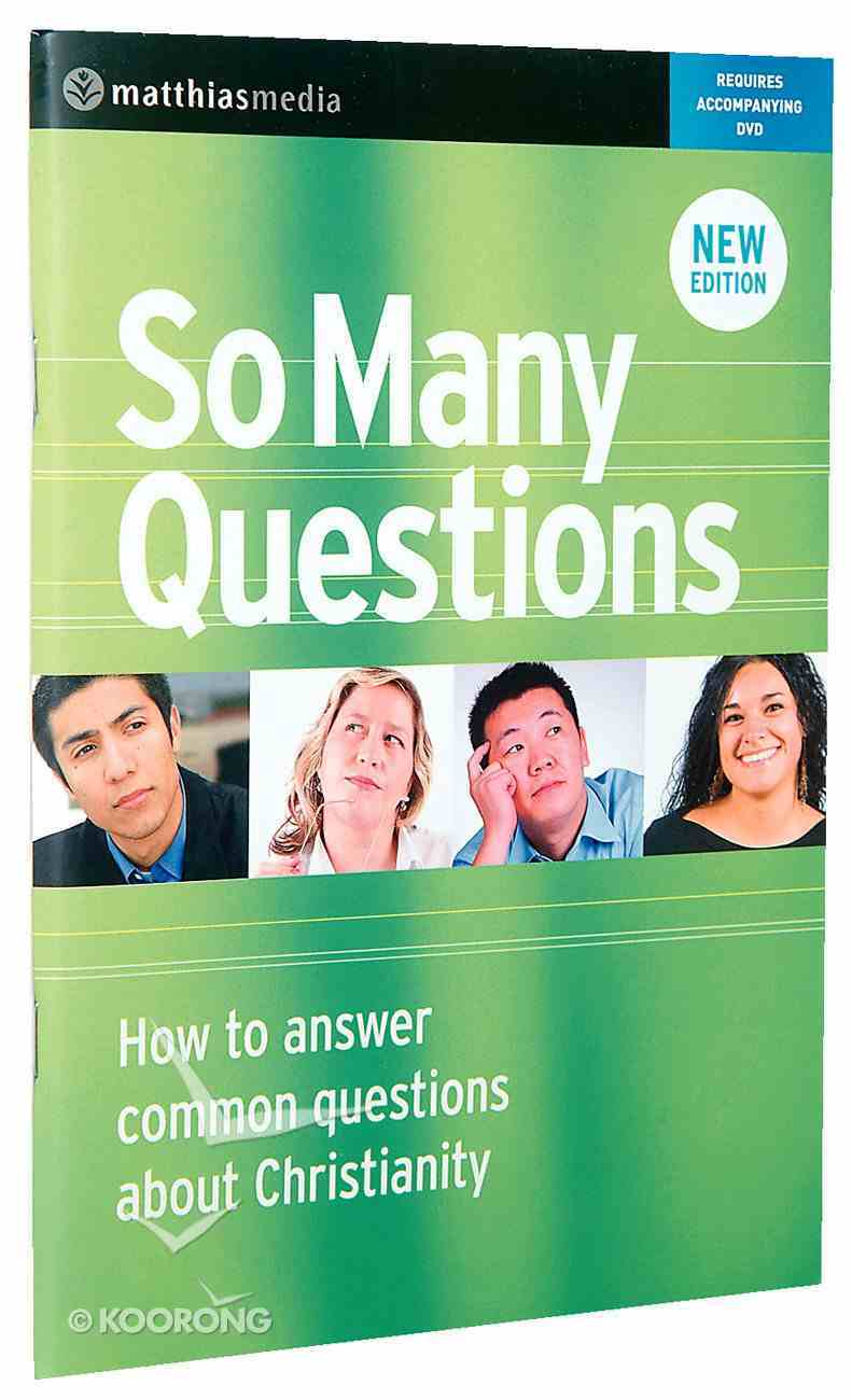 So Many Questions Revised Edition (Workbook) Paperback