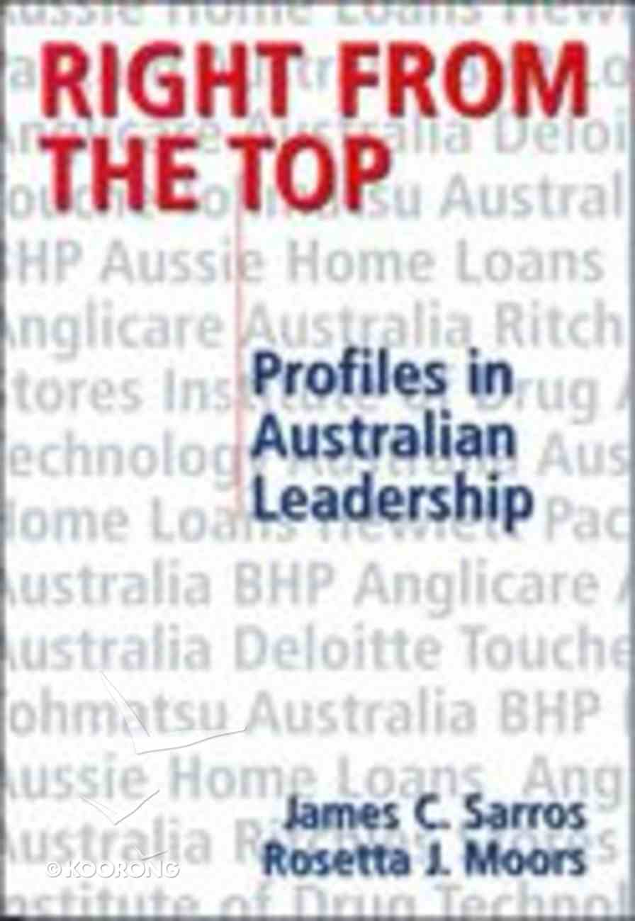 Right From the Top Paperback