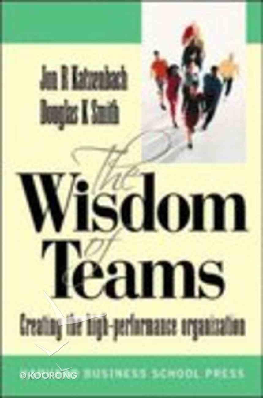 Wisdom of Teams Paperback