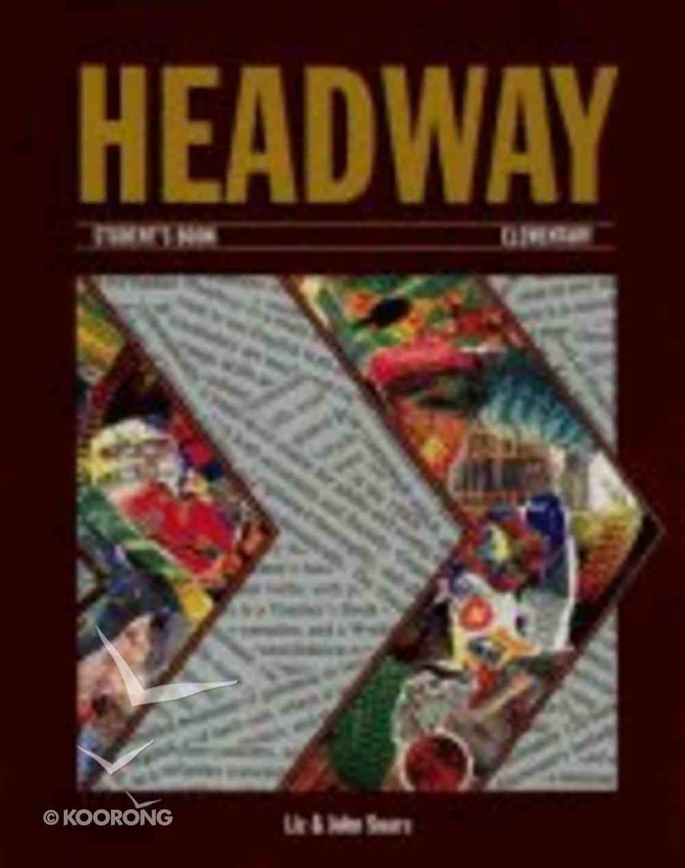 Headway Elementary Student's Book Paperback