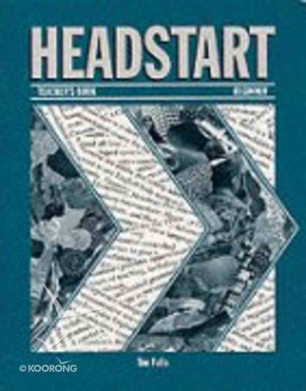 Headstart Teacher's Book Beginners Paperback