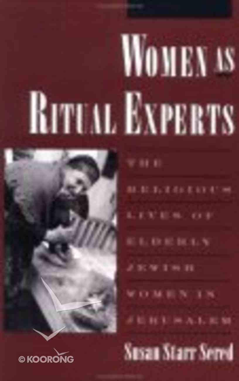 Women as Ritual Experts Paperback