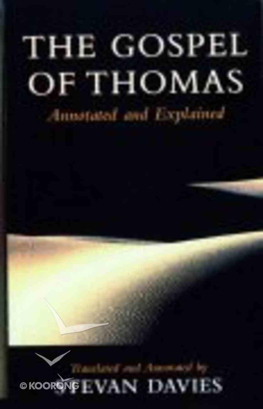 The Gospel of Thomas Paperback