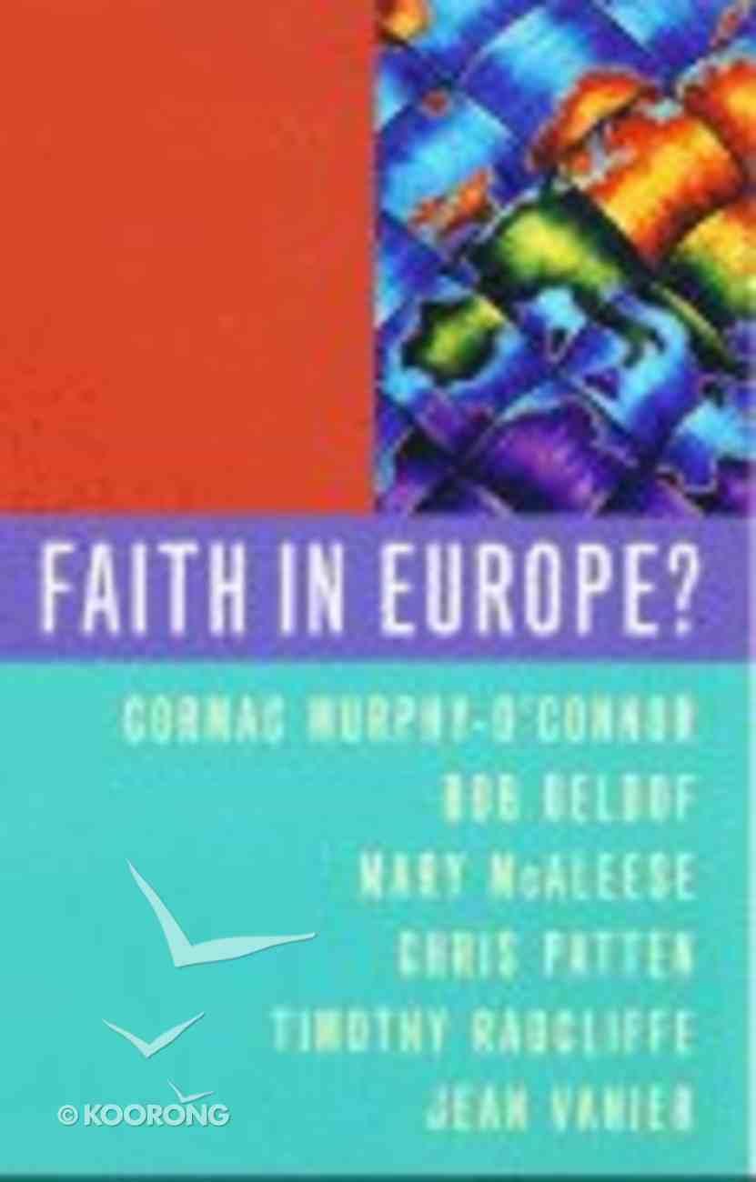 Faith in Europe? Paperback