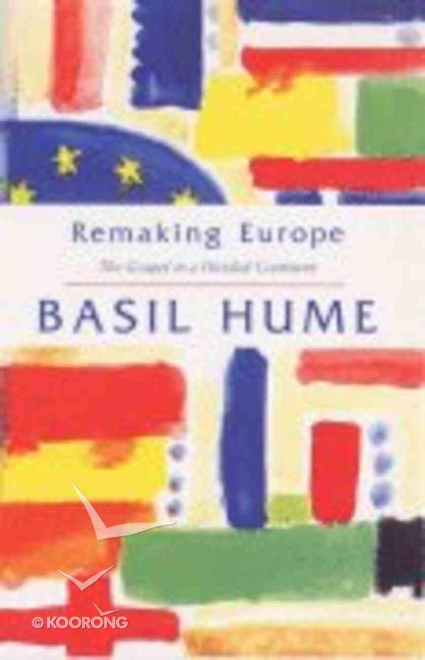 Remaking Europe Paperback
