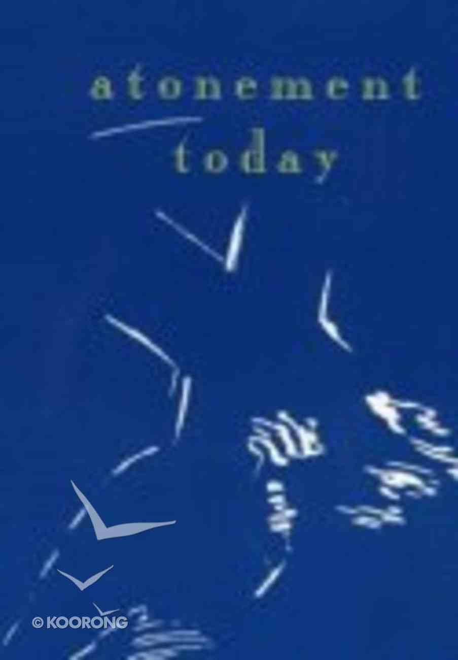 Atonement Today Paperback