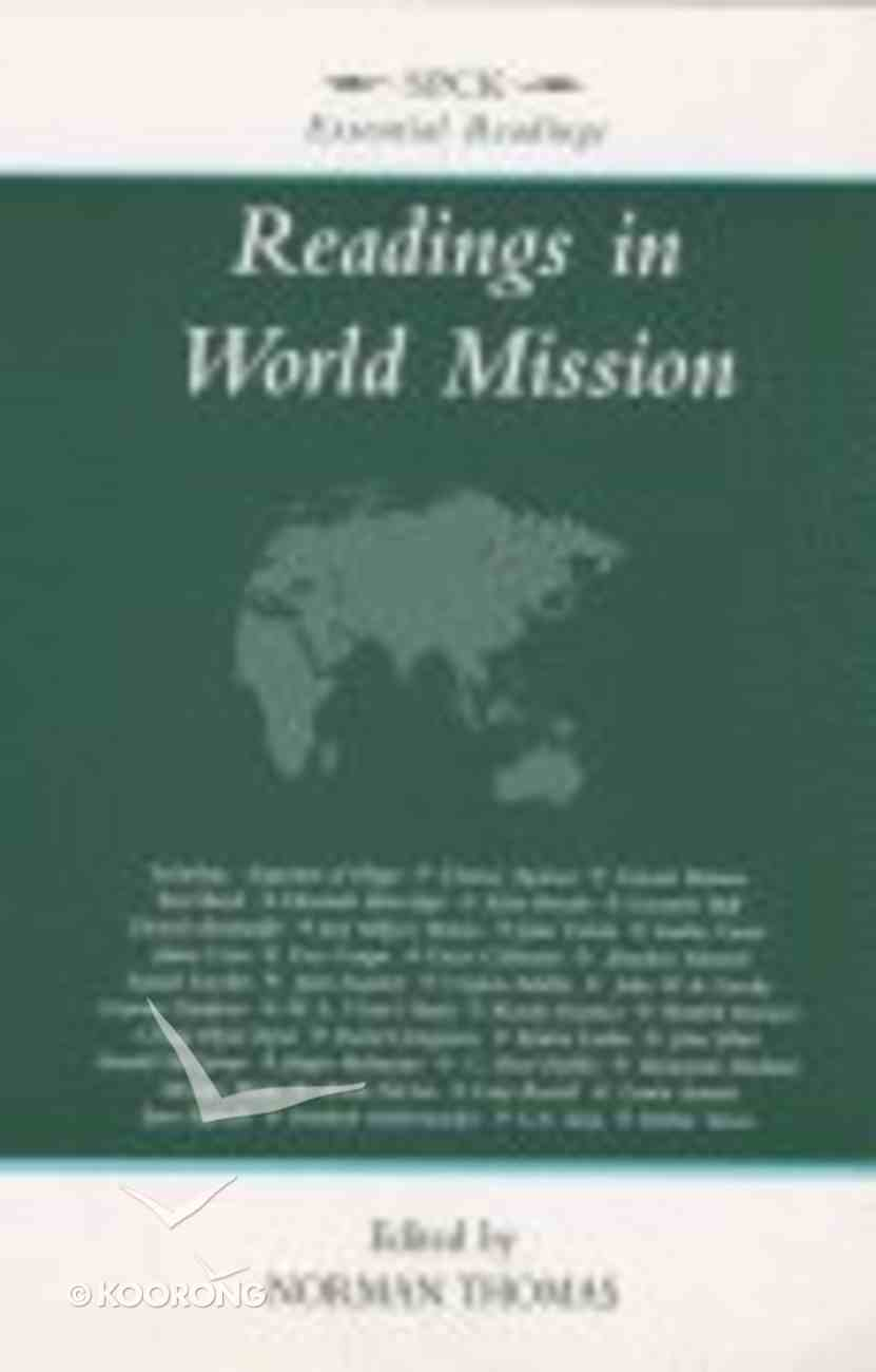 Readings in World Mission Paperback