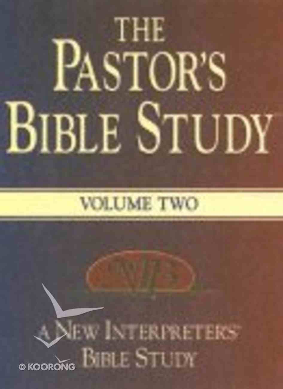 The Pastor's Bible Study (Volume 2) Hardback