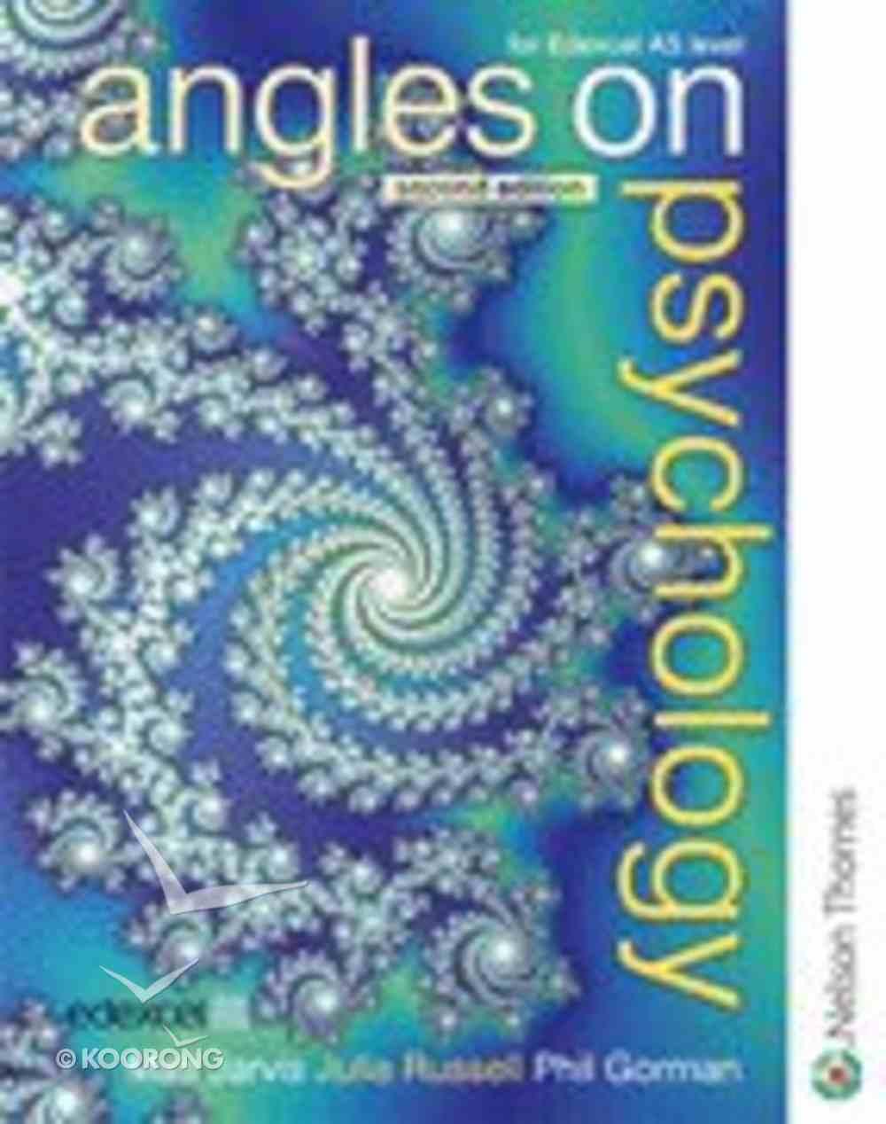 Angles on Psychology Paperback