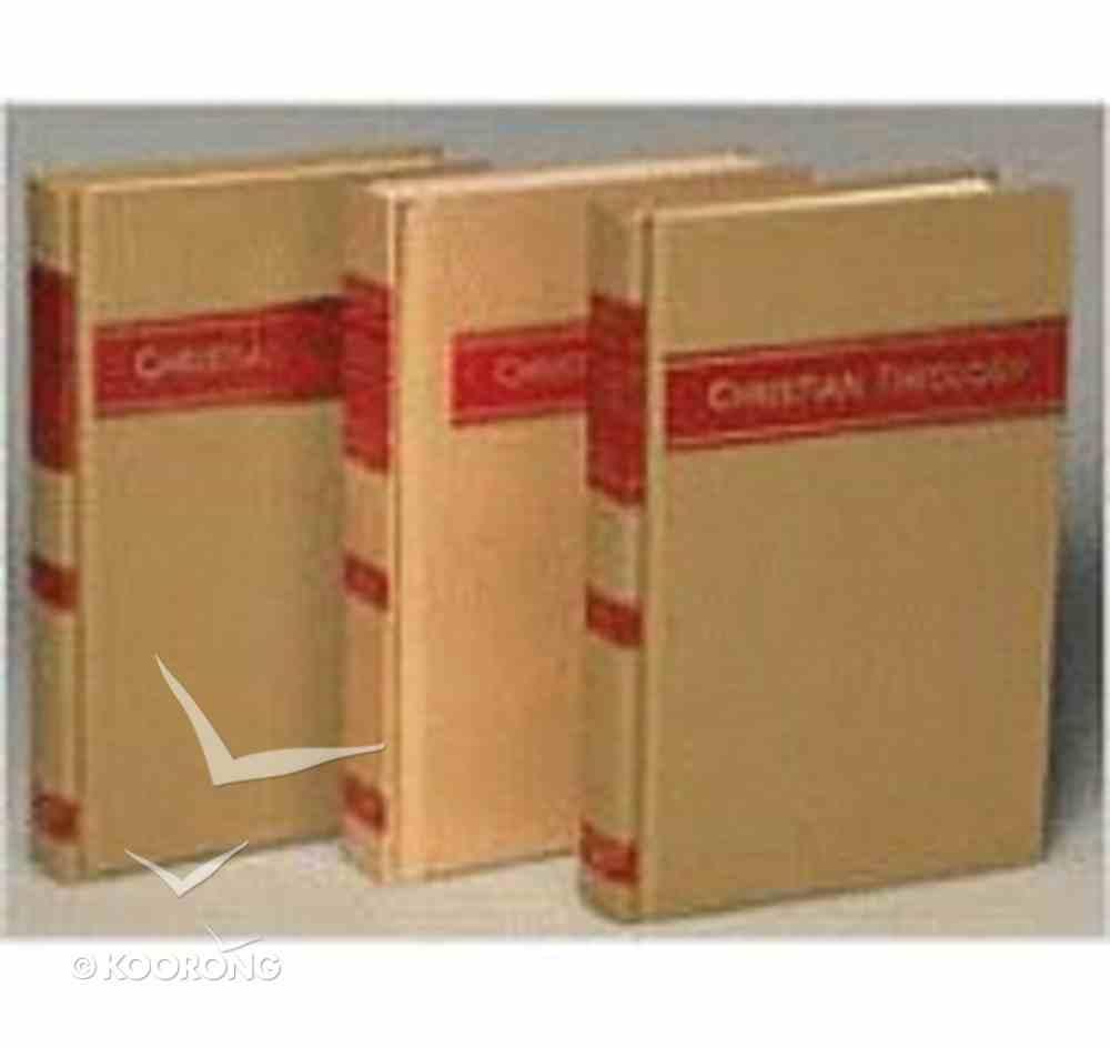 Christian Theology (3 Volume Set) Pack