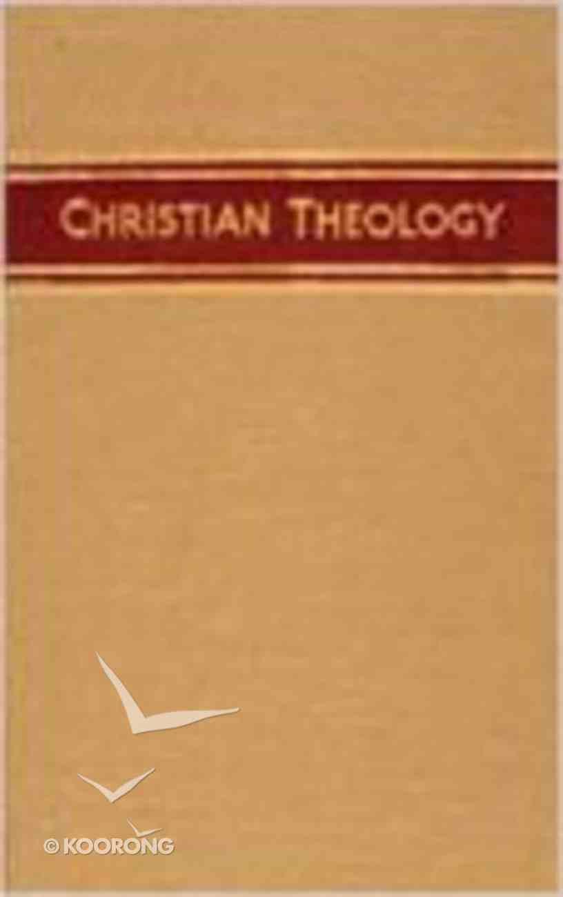 Christian Theology (Volume 3) Hardback