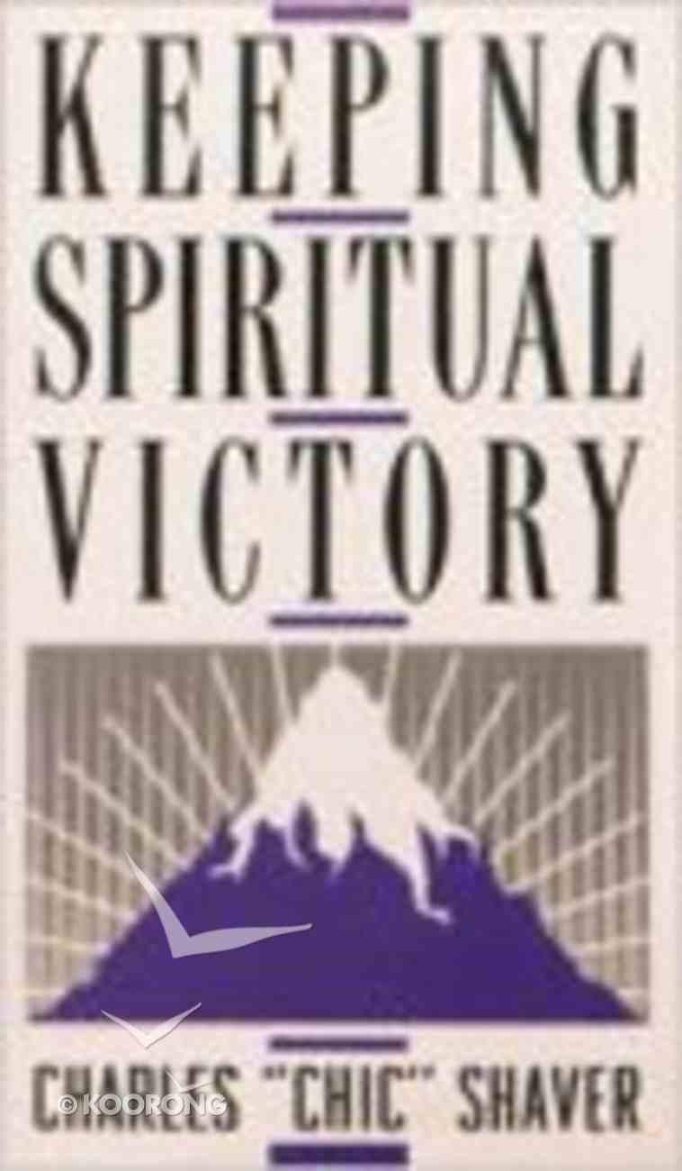 Keeping Spiritual Victory Paperback