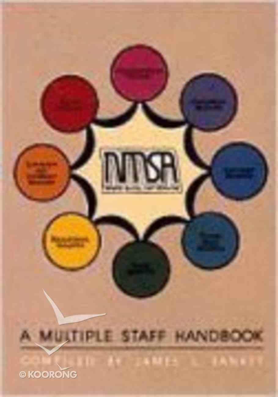 Multiple Staff Handbook Paperback