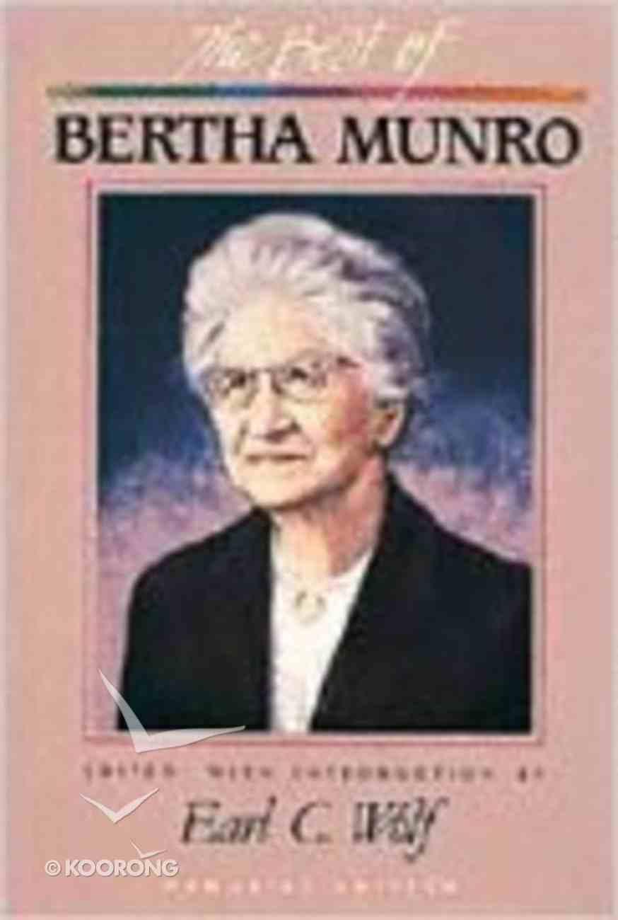 The Best of Bertha Munro Hardback