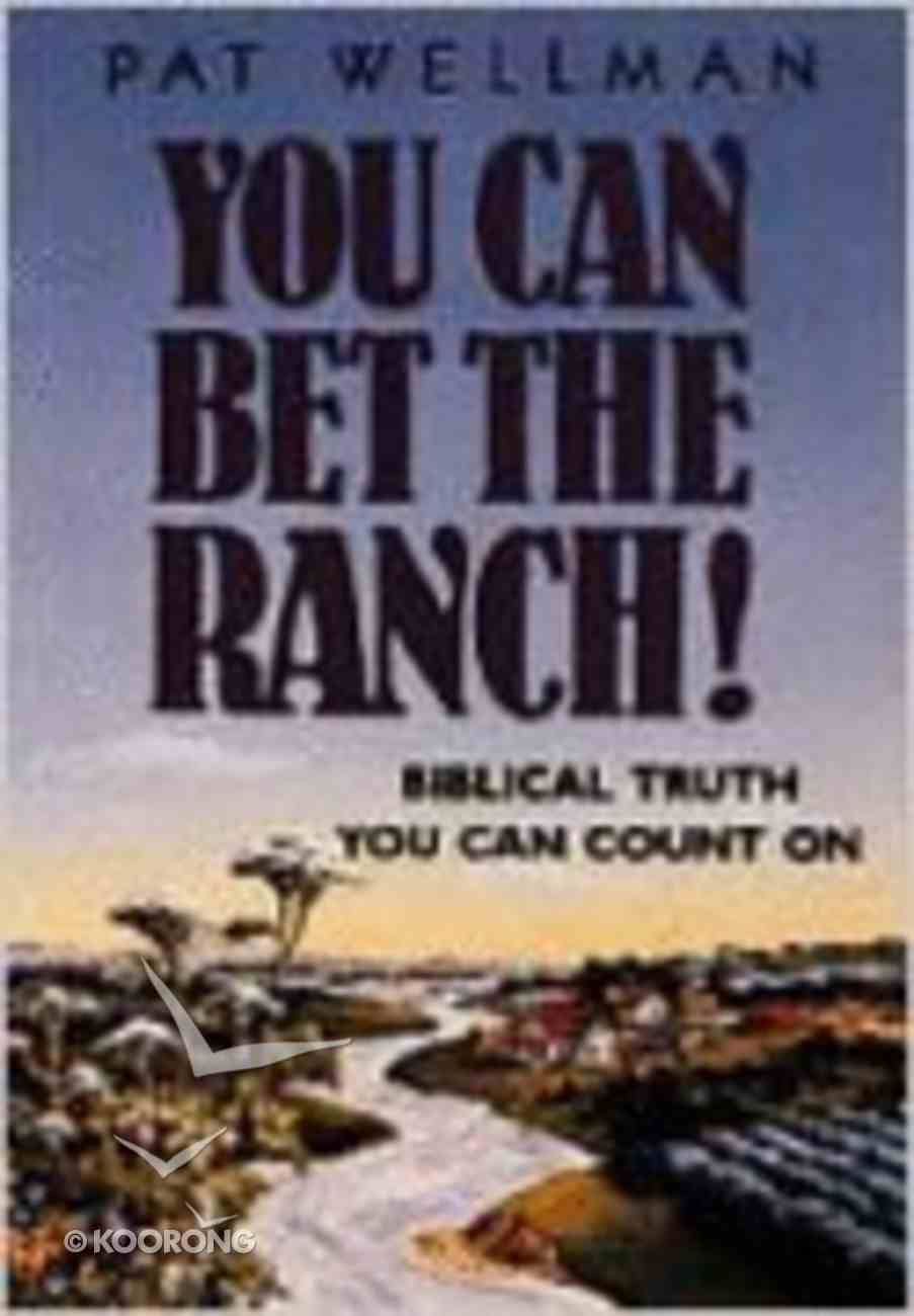 You Can Get the Ranch! Paperback