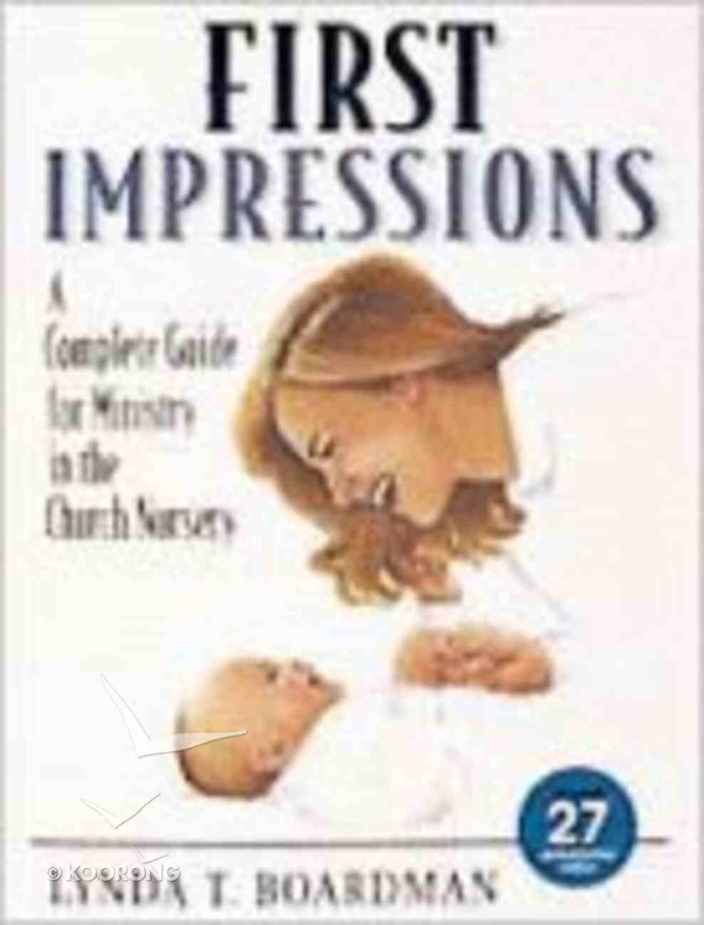 First Impressions Paperback