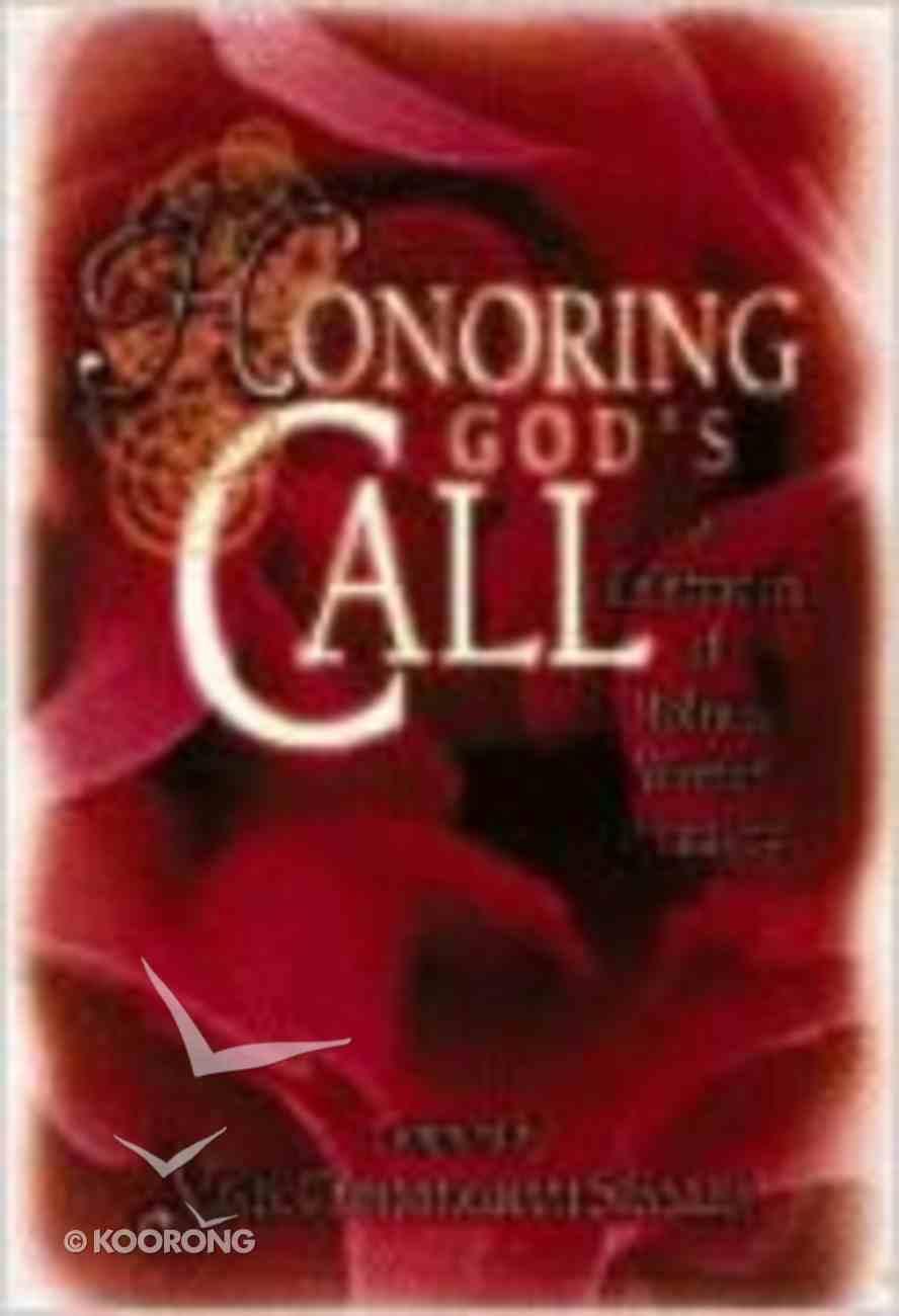 Honoring God's Call Paperback