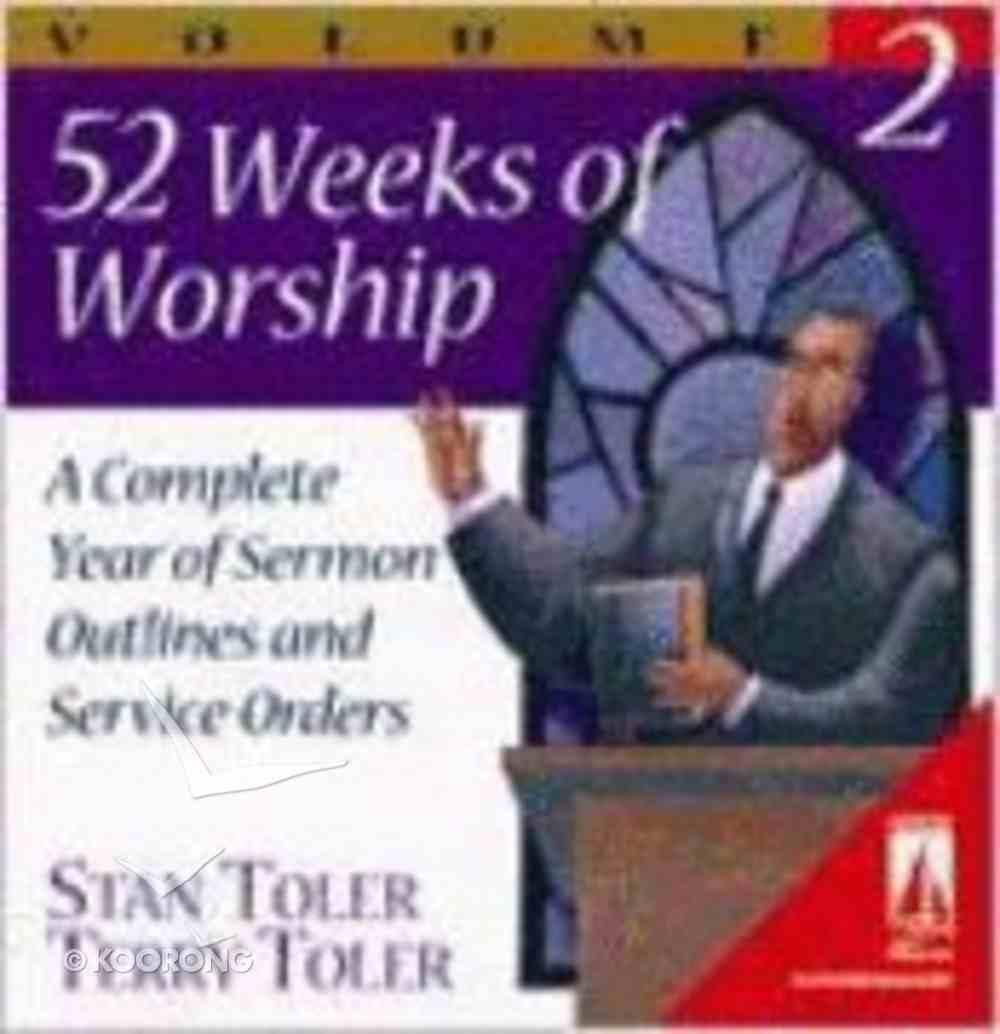 52 Weeks of Worship Volume 2 (Lifestream Resources Kits Series) Ring Bound
