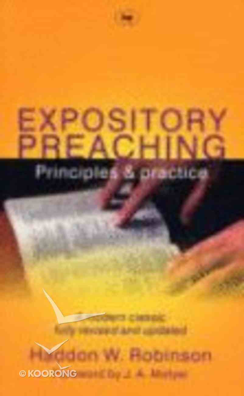 Expository Preaching Paperback