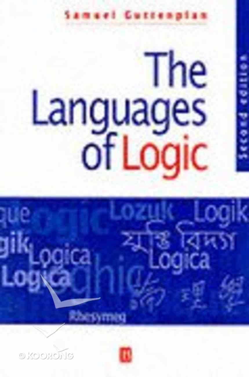 The Languages of Logic Paperback