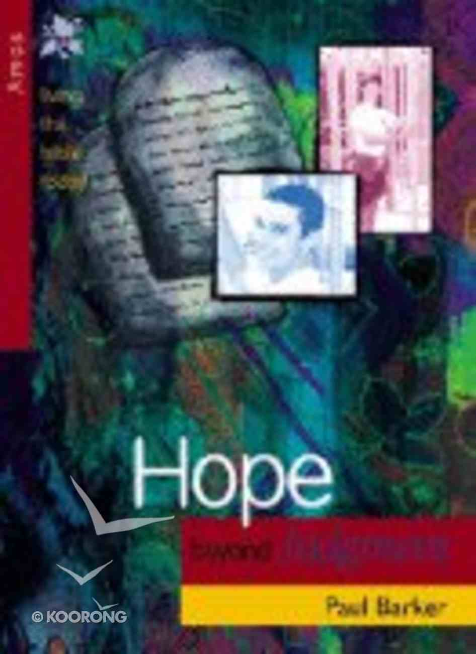 Hope Beyond Judgement (Amos) (Living The Bible Today Series) Paperback