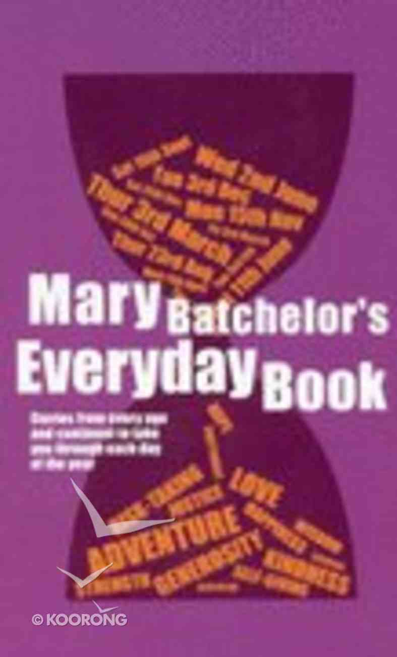 Mary Batchelor's Everyday Book (3rd Edition) Paperback
