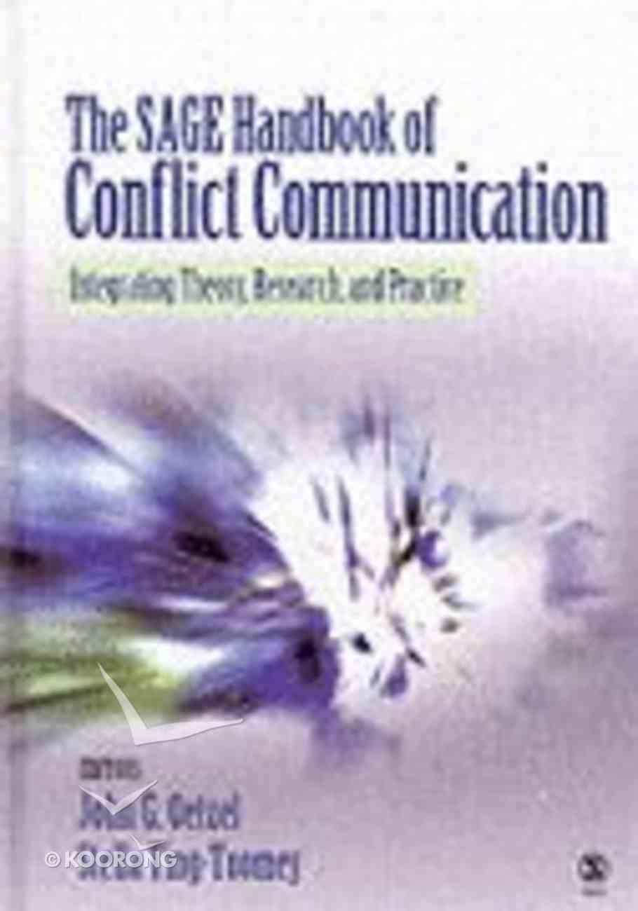 Sage Handbook of Conflict Communication Hardback