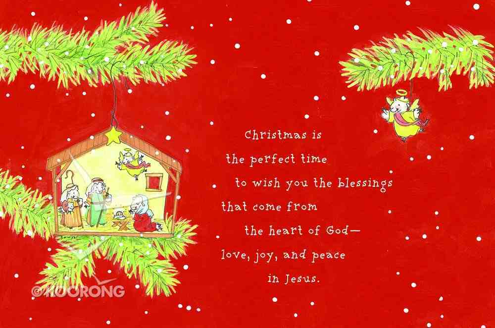 Christmas Boxed Cards: Christmas is the Perfect Time Pack