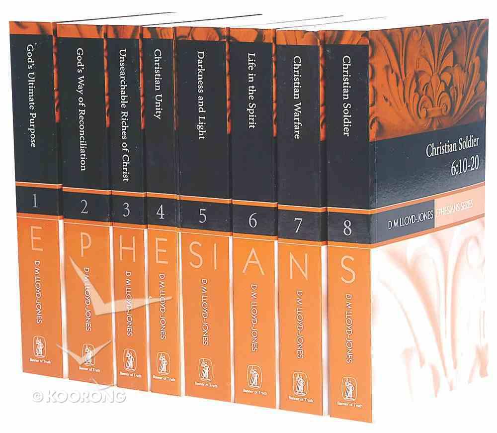 Mlj on Ephesians (8 Vol Set) Paperback