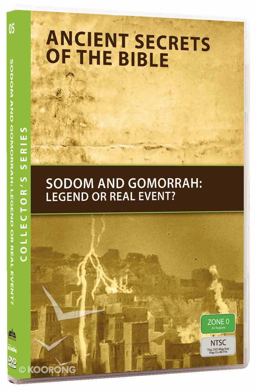 Ancient Secrets #05: Sodom and Gomorrah (#05 in Ancient Secrets Of The Bible Dvd Series) DVD