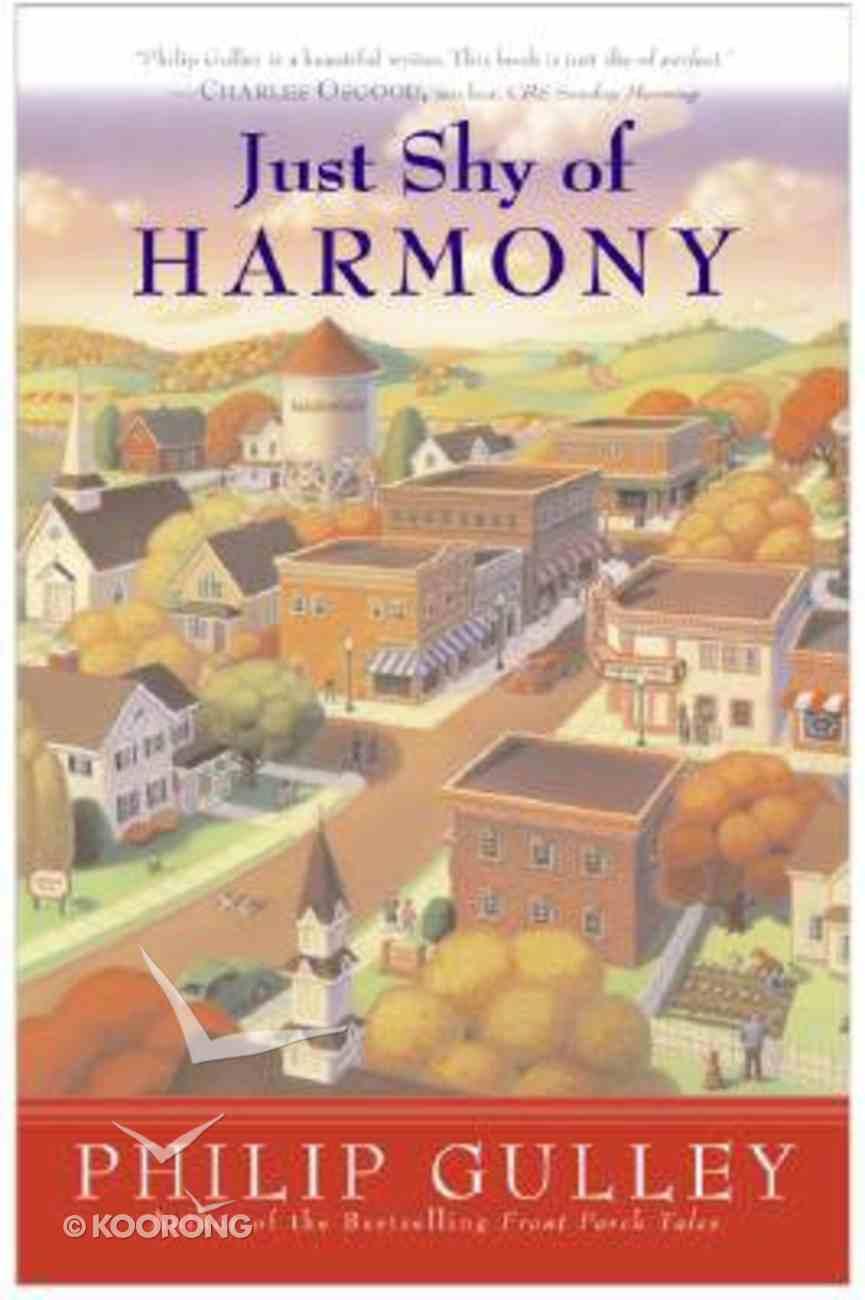 Just Shy of Harmony (#02 in Harmony Series) Hardback