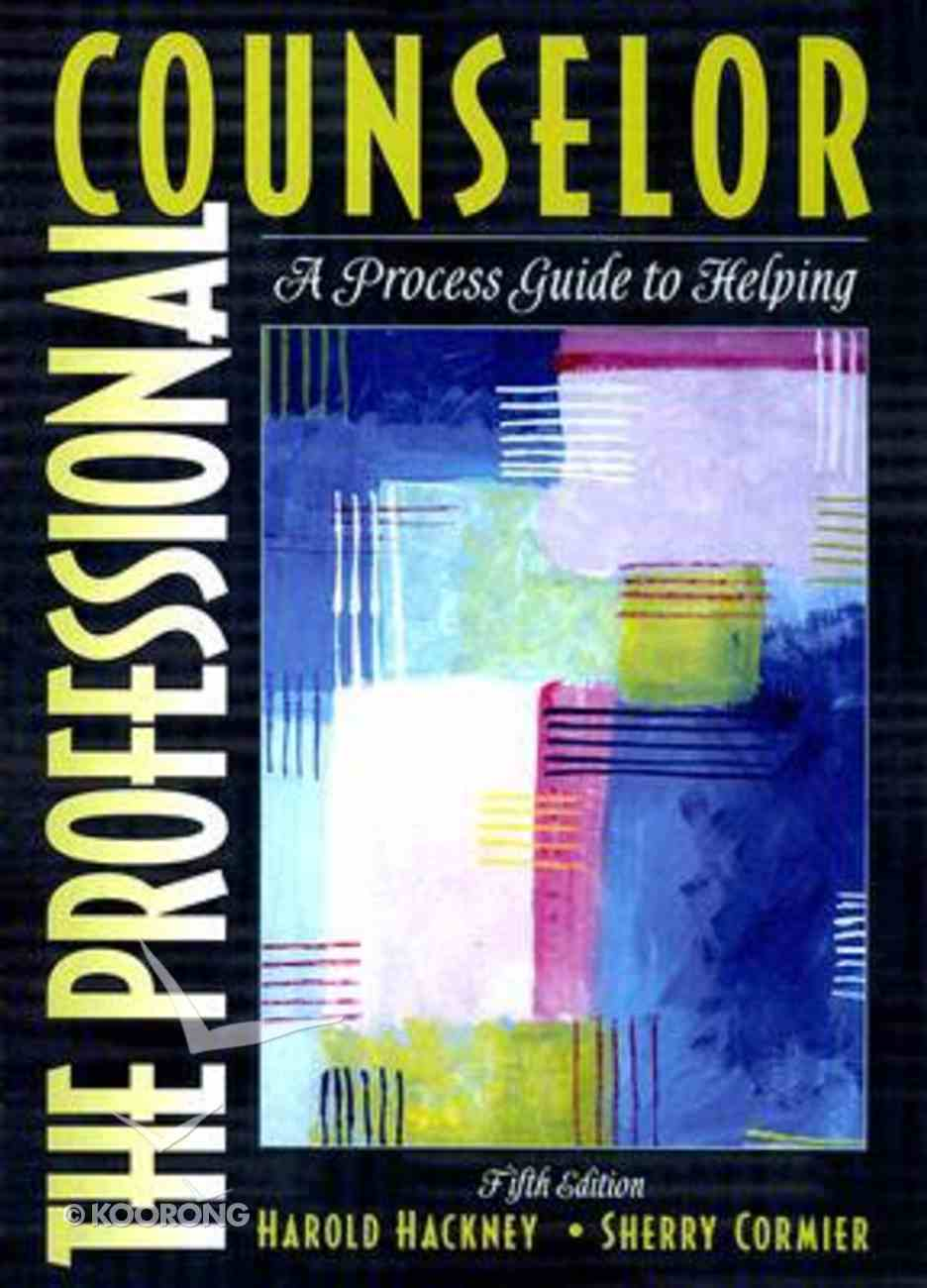 Professional Counselor Paperback