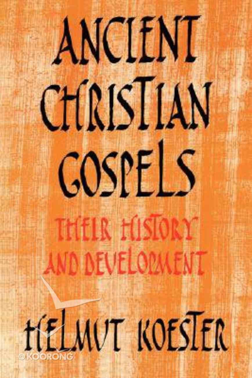 Ancient Christian Gospels Paperback