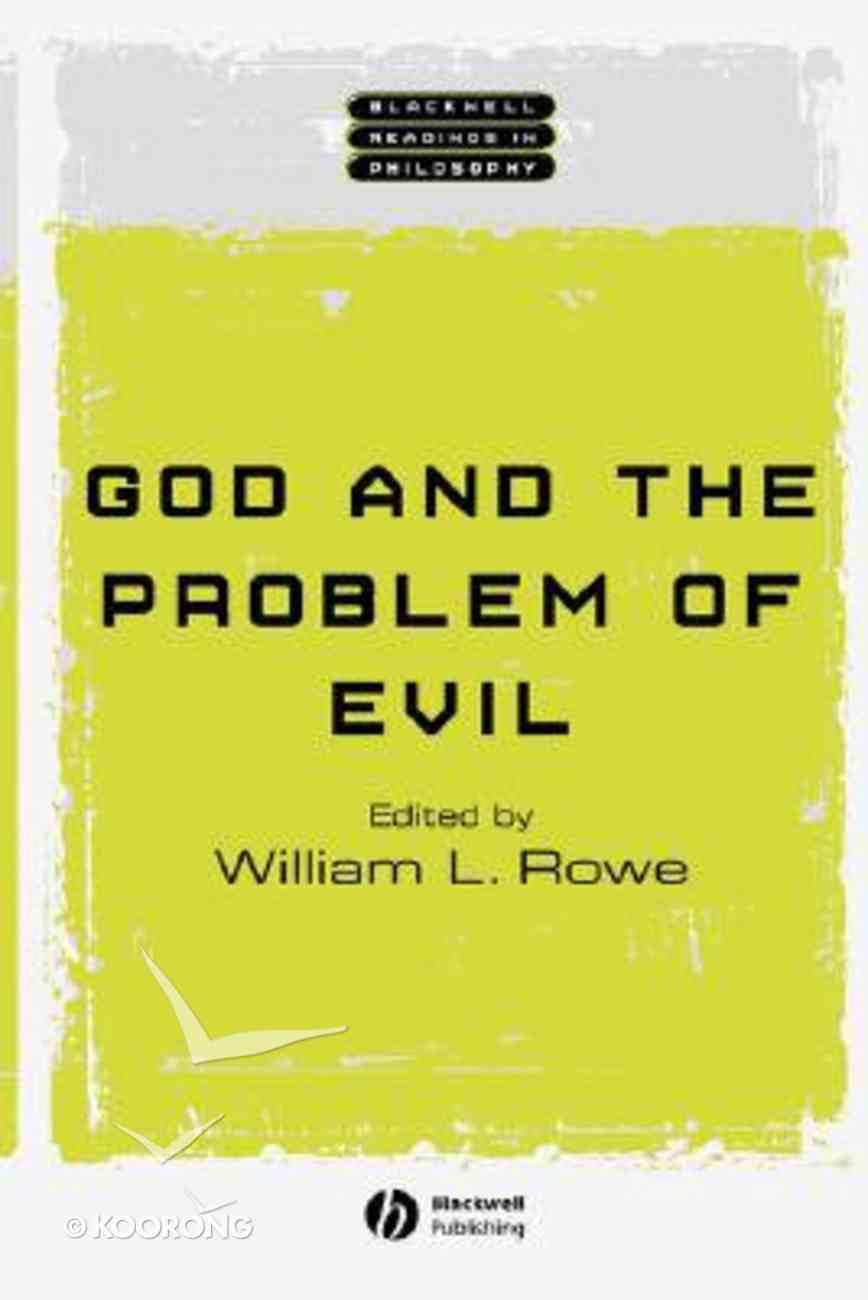 God and the Problem of Evil Paperback