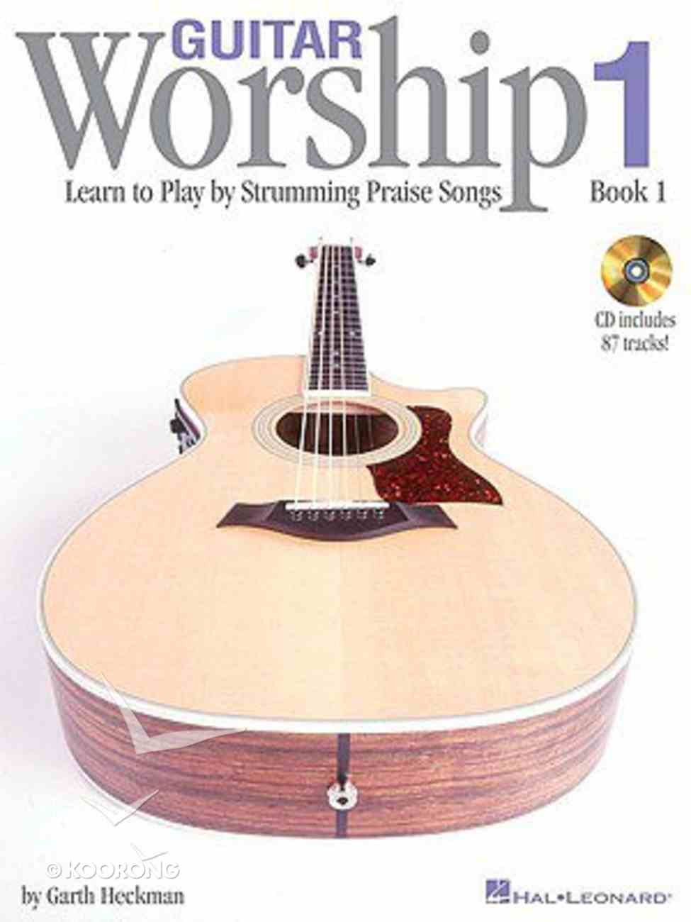 Guitar Worship: Method Book 1 (With Cd) Paperback