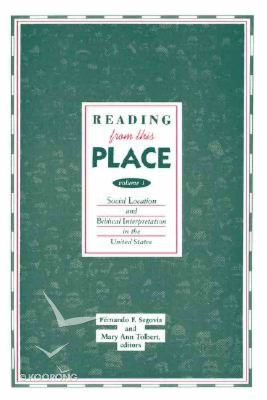Reading From This Place (Vol 1) Paperback