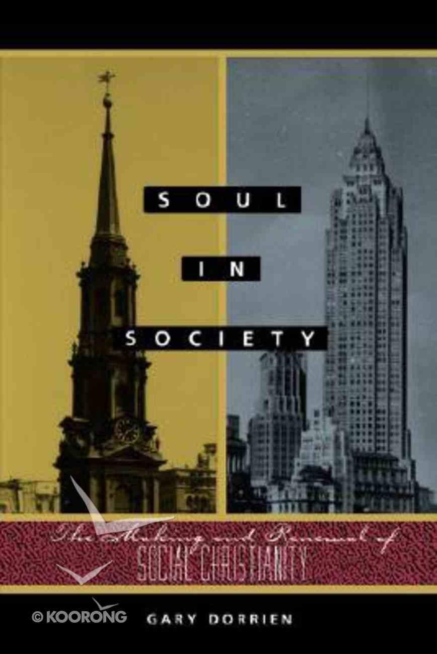 Soul in Society Paperback
