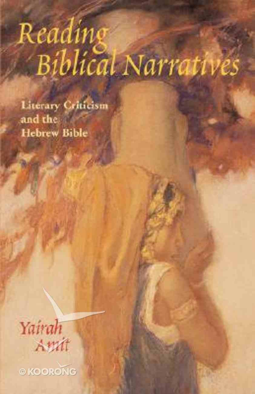 Reading Biblical Narratives Paperback