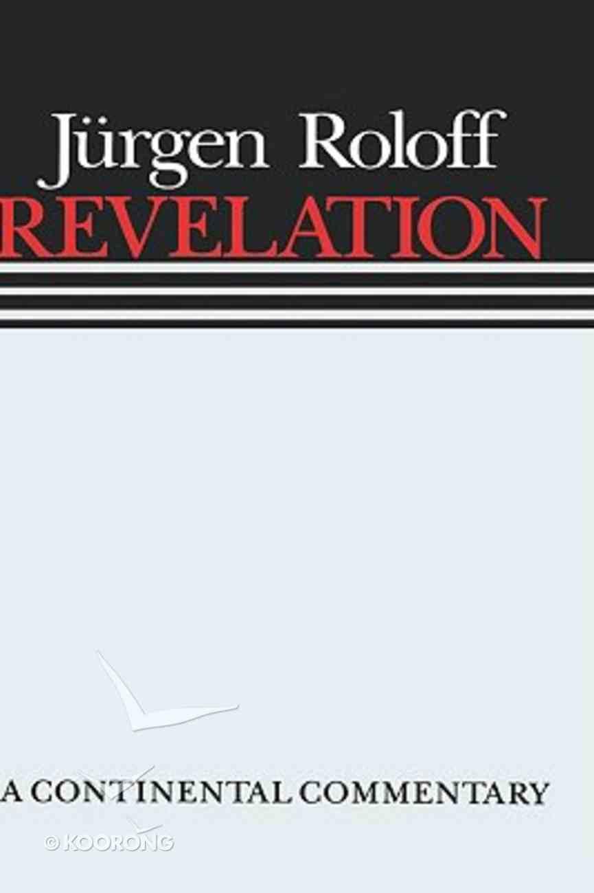 Revelation (Continental Commentary Series) Hardback