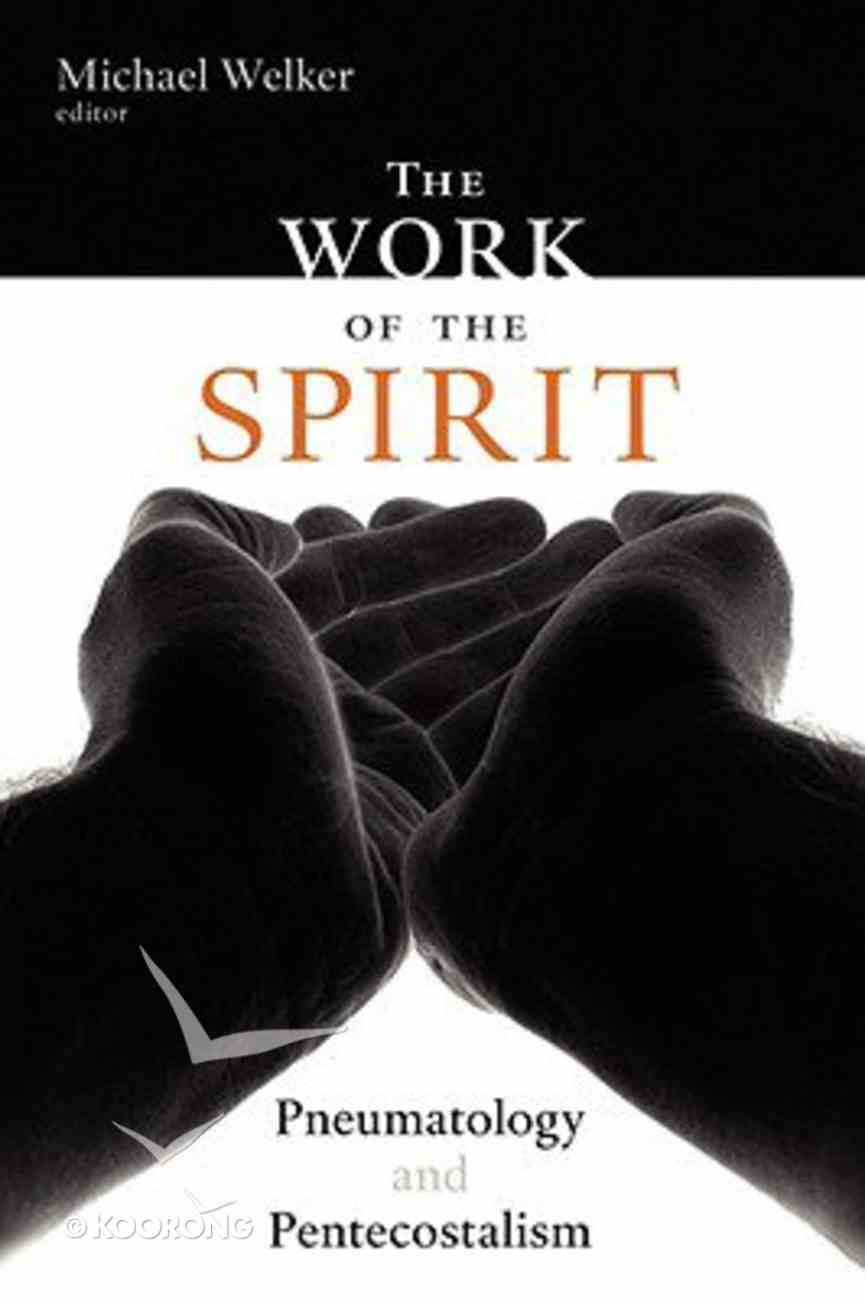 The Work of the Spirit Paperback