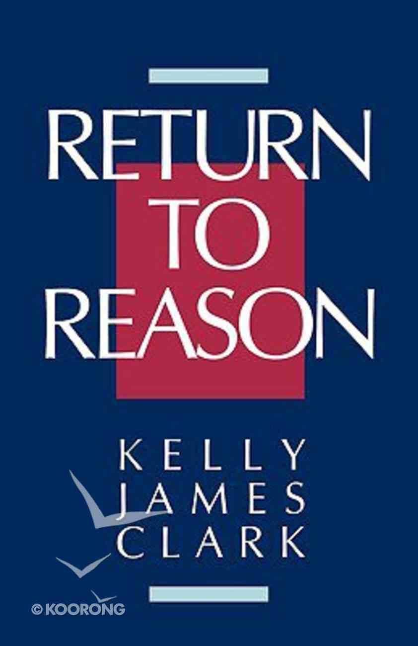 Return to Reason Paperback