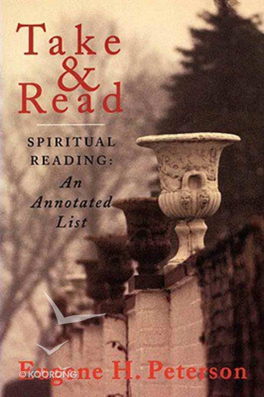 Take and Read (Spiritual Reading) Paperback