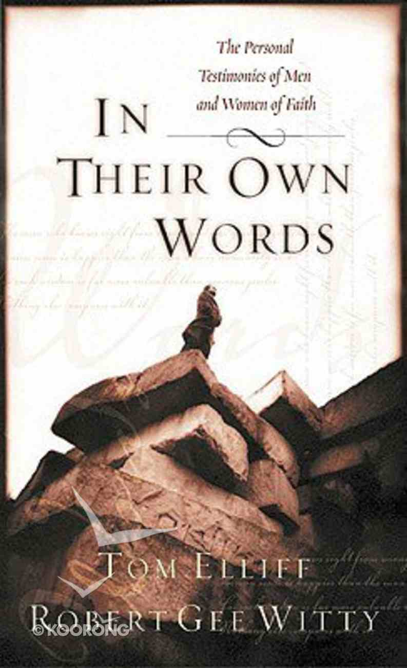 In Their Own Words Paperback